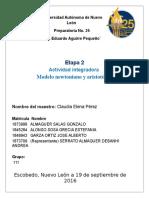 Act integradora, modelo newtoniano y aristotelico.docx