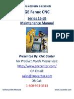 Fanuc 16 -E Maintenance Manual
