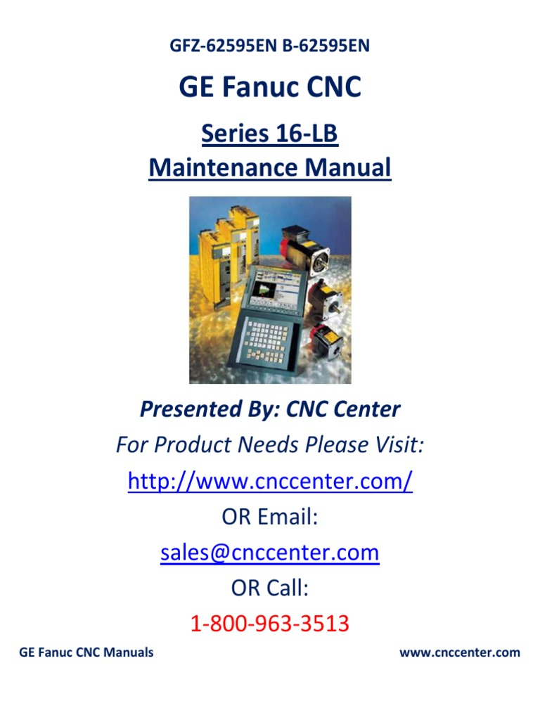 Fanuc 16 -E Maintenance Manual | Parameter (Computer Programming) |  Automation