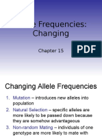 15 Alleles Changing
