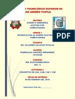 PDF Conceptos Cad, Cam, Cae, Cim