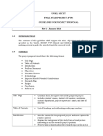 FYP Proposal Guidelines