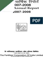 Annual Report 2007 08