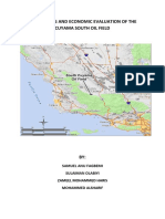 Economic Evaluation of Cuyama South Field Water flooding and tuning salinity practices