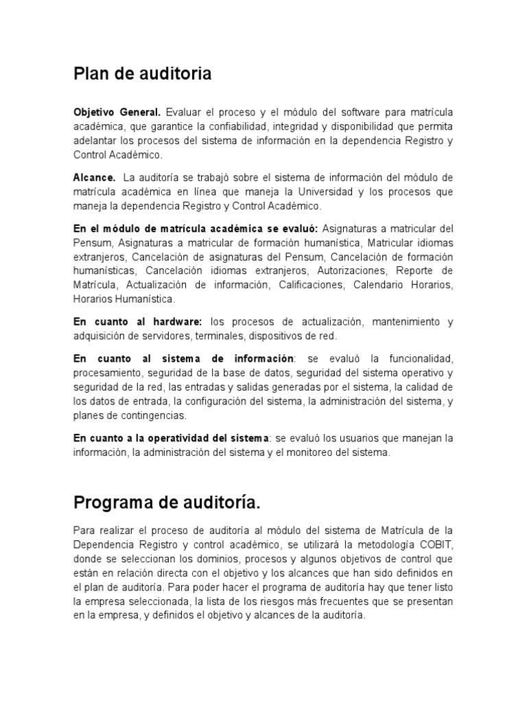 Encantador Reanudar Ejemplos Objetivos General Bosquejo - Colección ...