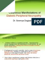 Cutaneous Manifestations of Diabetic Peripheral Neuropathy FINAL