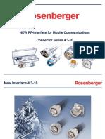 Rosenberger 4-3-10 Presentation
