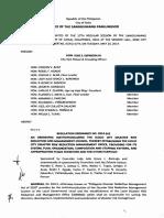 Iloilo City Regulation Ordinance 2014-262