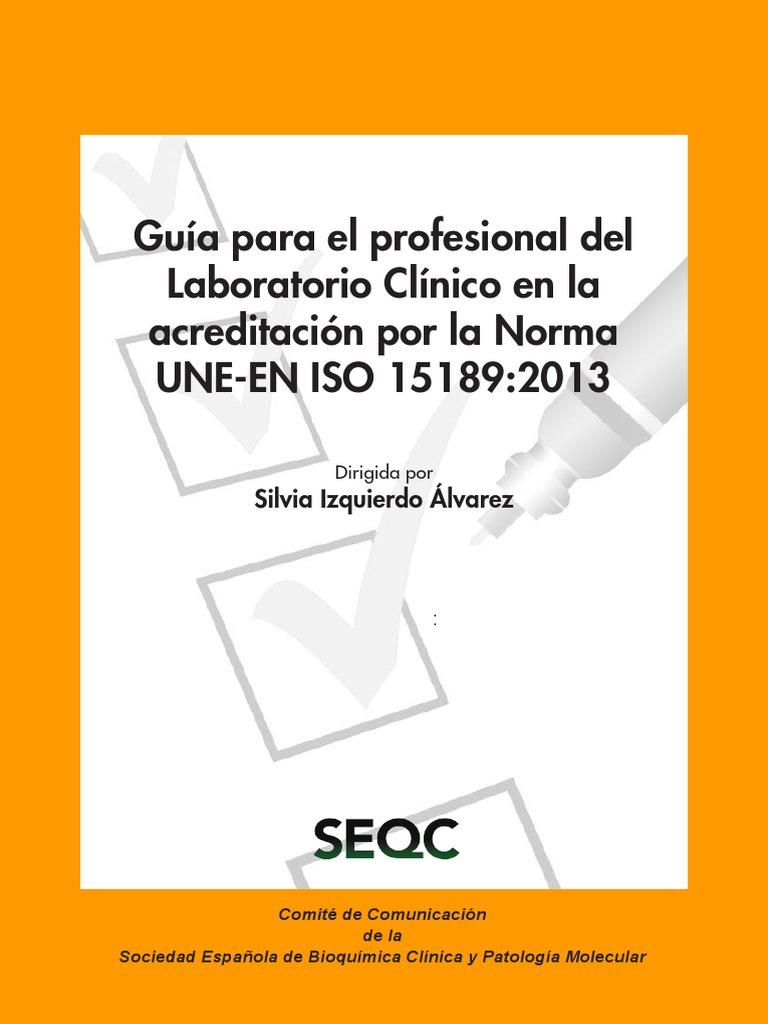 Monografía Guia Del Profesional de Laboratorio en La Acreditación ...