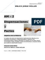 Dispensaciones y Pactos- Autor