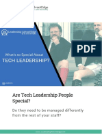 Whats So Special About Tech Leadership?