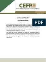 Análisis PPEF 2017 Gasto Federalizado