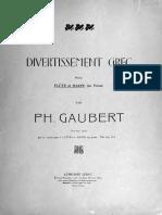 Gaubert, Divertissement Grec, SCORE IMSLP136268-PMLP199687.pdf