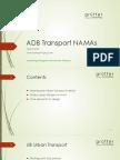 NAMAs and INDCs Training_05 - J Grutter - ADB Transport NAMAs