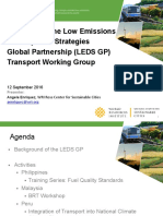 NAMAs and INDCs Training_03 - A Enriquez - Activities of the LEDS GP Transport Working Group