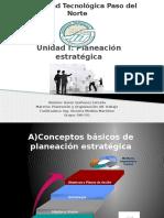 Unidad I. Conceptos de Planeacion Estrategica