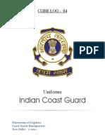 Indian Coast Guard Uniform