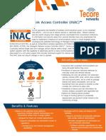 Tecore Networks - Data Sheet - InAC