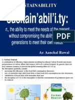 Sustainability Terminology