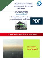 Hydrogen and Fuel Cells Training_11 - L Antoni - Bus Procurement Initiative in Europe