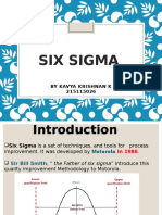 Six sigma with a case study on wipro