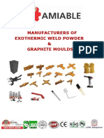 Amiable Exothermic Weld Catalog