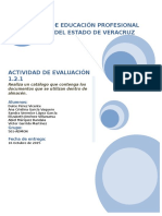 Catálogo de Documentos Al Almacén