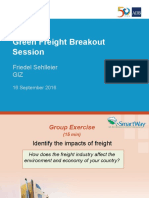 Green Freight Training_03 - F Sehlleier - Breakout Session Guidance