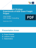 Green Freight Training_04 - J Grutter - Green Freight Strategy- Experiences of ADB Green Freight Project