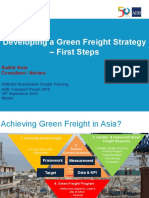Green Freight Training_02 - S Gota - Developing a Green Freight Strategy - First Steps