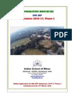 Information Brochure 2016 2