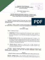 DOLE Department Order
