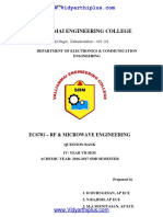 EC6701-RF and Microwave Engineering