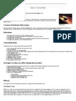 Rotational Atherectomy - Wikidoc