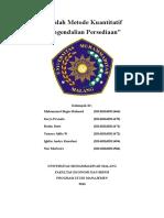 Metode Kuantitatif-Persediaan