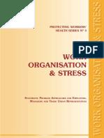 Work organization and stress