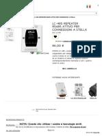 ALTRO _ LC-485 Repeater RS485 Attivo Per Connessioni a Stella