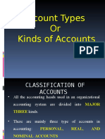 Types of Accounts