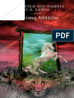C S Lewis Cronicile Din Narnia Ultima Batalie
