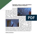 Thiller Textual Analysis - Psycho