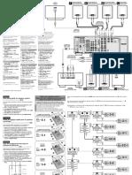 Amplificador Sony Str-db790 Especificaciones