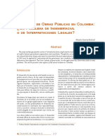4. El diseño de obras publicas en colombia