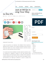 15 Tips to Cheat at MCQs in IIT JEE_ Guessing Your Way to the IITs – AskIITians
