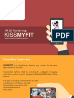 KISSMYFIT - AR 3D Fashion App [Mod2 Submission]