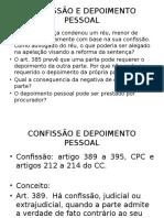 Aula 1 - Confissão-Depoimento Pessoal