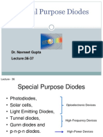 Lecture 36 37 Special Purpose Diodes I