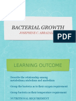Bacterial GROWTH