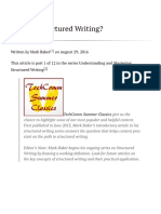 What is Structured Writing_ _ TechWhirl