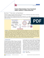 Advances in Living Anionic Polymerization