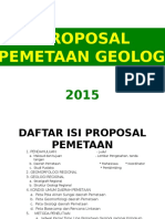Proposal Pemetaan 2015